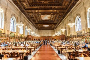New York Publics Library USA