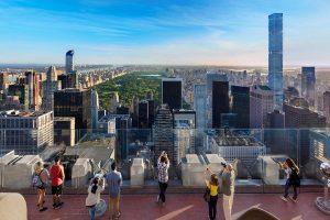 Rockefeller Center and Top of Rock Observation Deck
