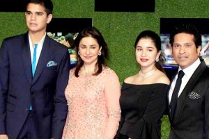 Sachin family pic