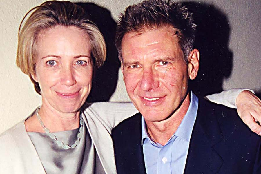 Harrison Ford and also Melissa Mathison