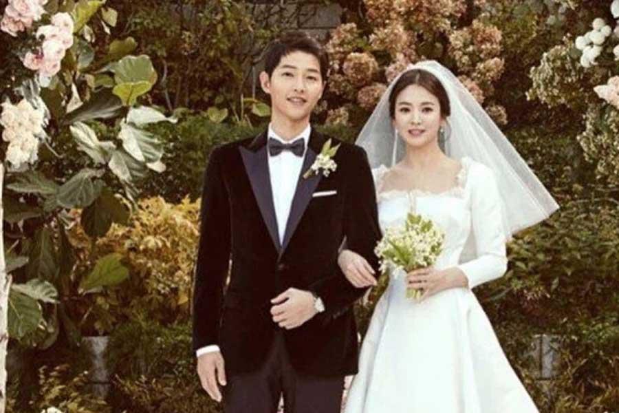 Song Joong-ki and Song Hye-kyo