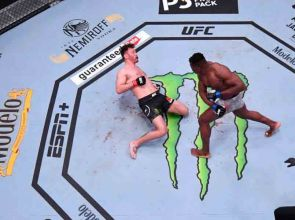 UFC 260 Photos show savagery of Francis Ngannou's knockout power over Stipe Miocic to win title